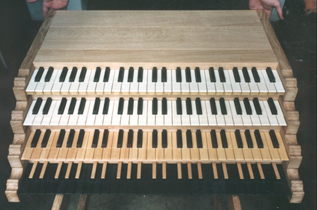 Chest Organ Keyboards